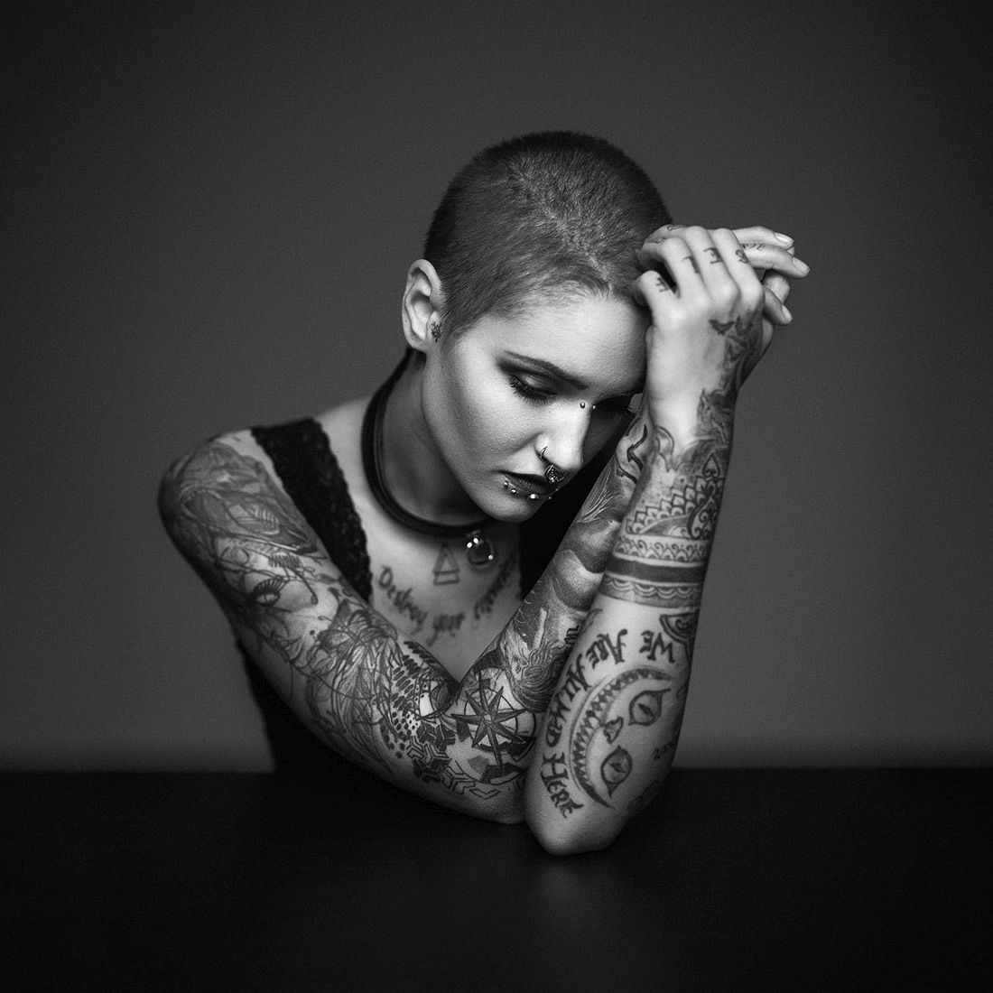Marco Gressler: Tattoo / 1st Place in Portrait (Single)