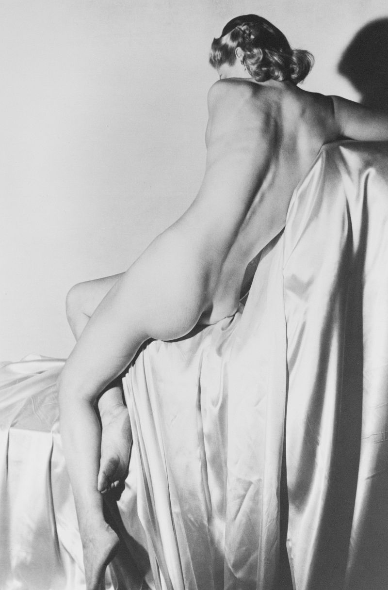 Horst P. Horst, Lisa on Silk I