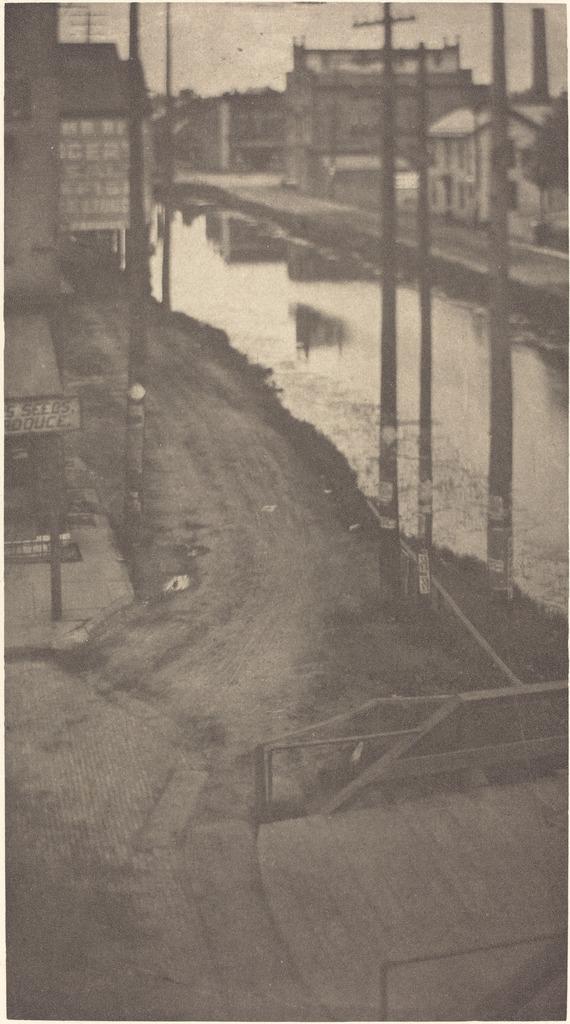 Telephone Poles, ca. 1900