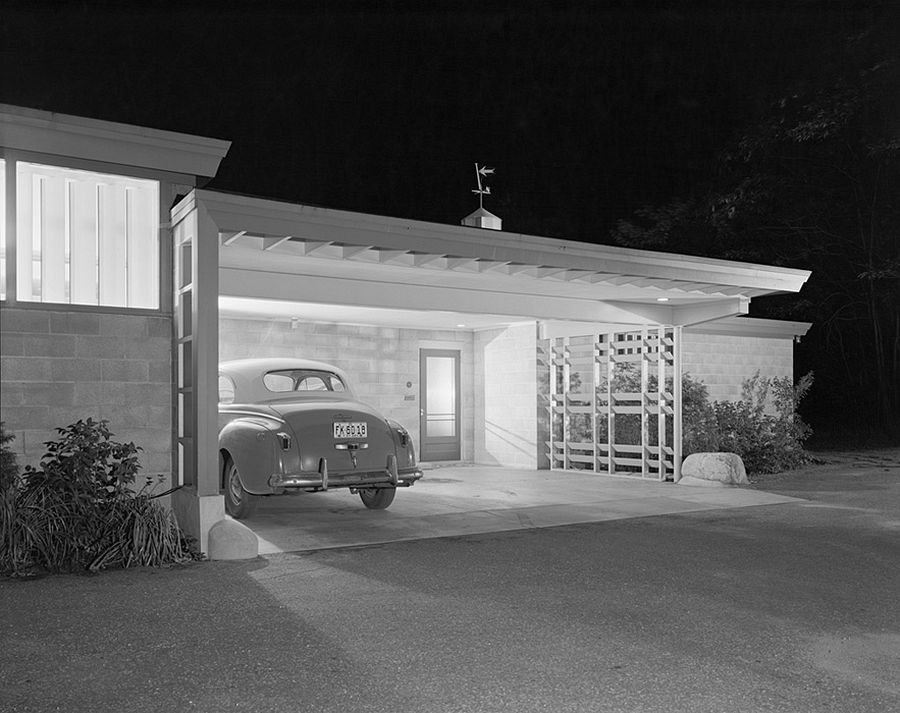 Brenner House, Harry Weese, Champaign, IL, 1952