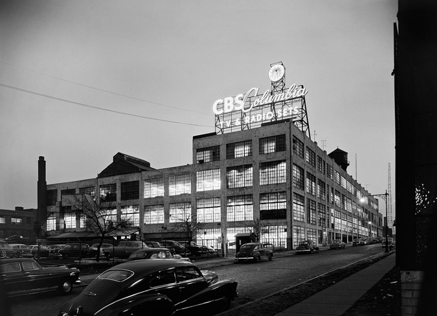 CBS Columbia, Long Island City, NY, 1954