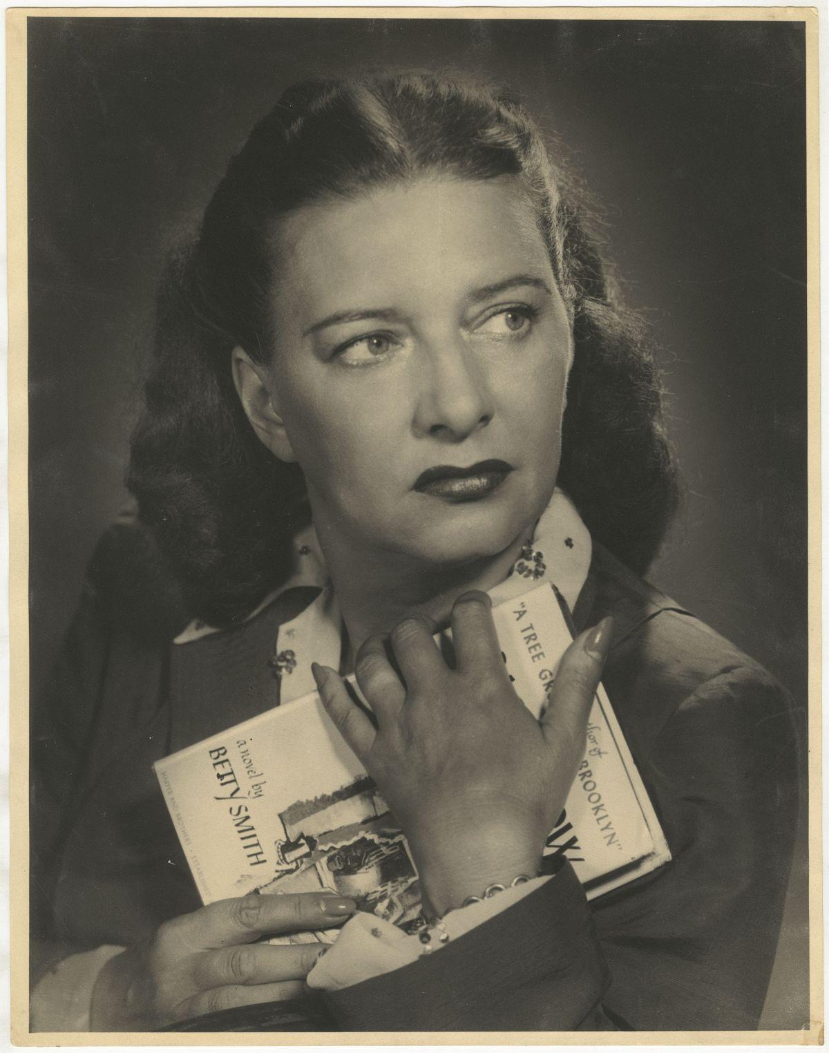 Photo: Editta Sherman (1912–2013); Betty Smith; ca.1949. Gelatin silver print. New-York Historical Society; Gift of Melisande Sherman.