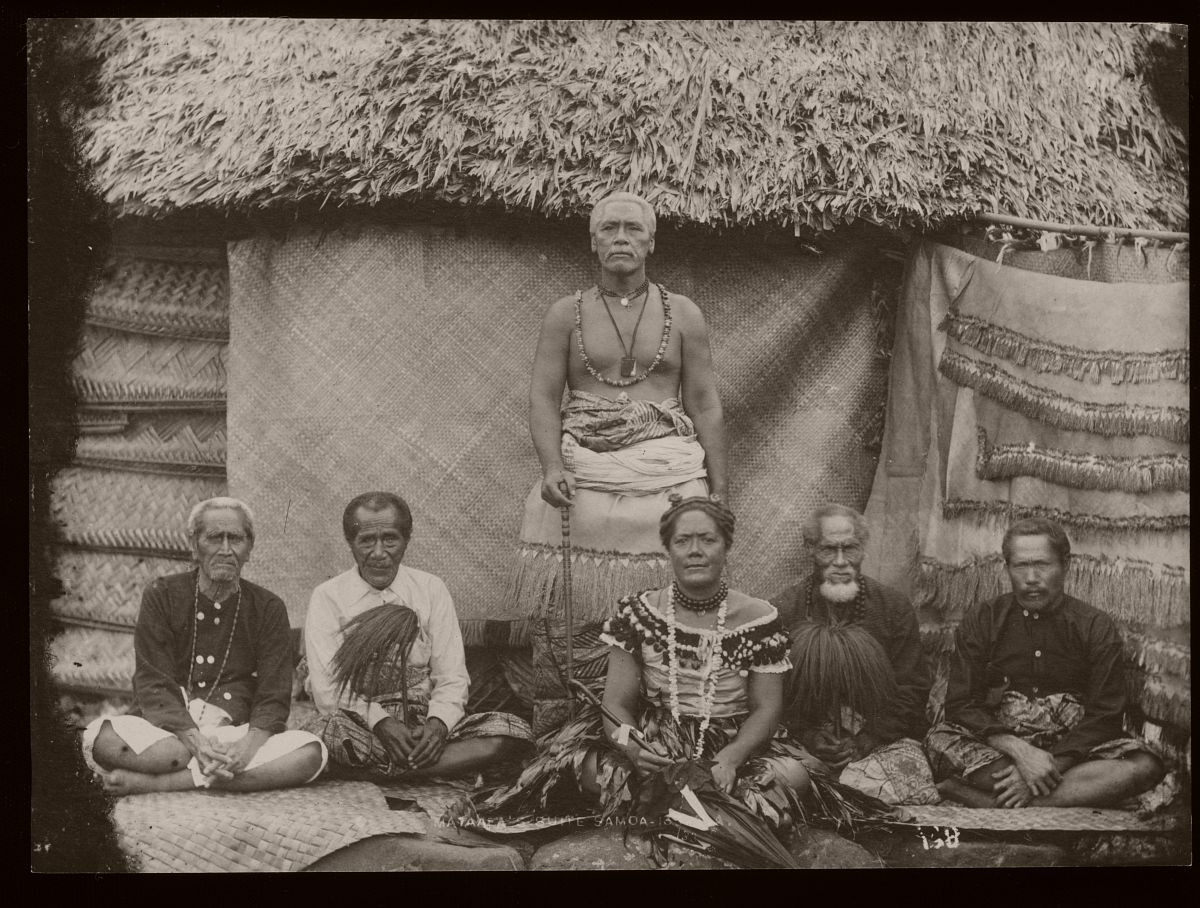 Mata'afa Iosefo Laiufi and court