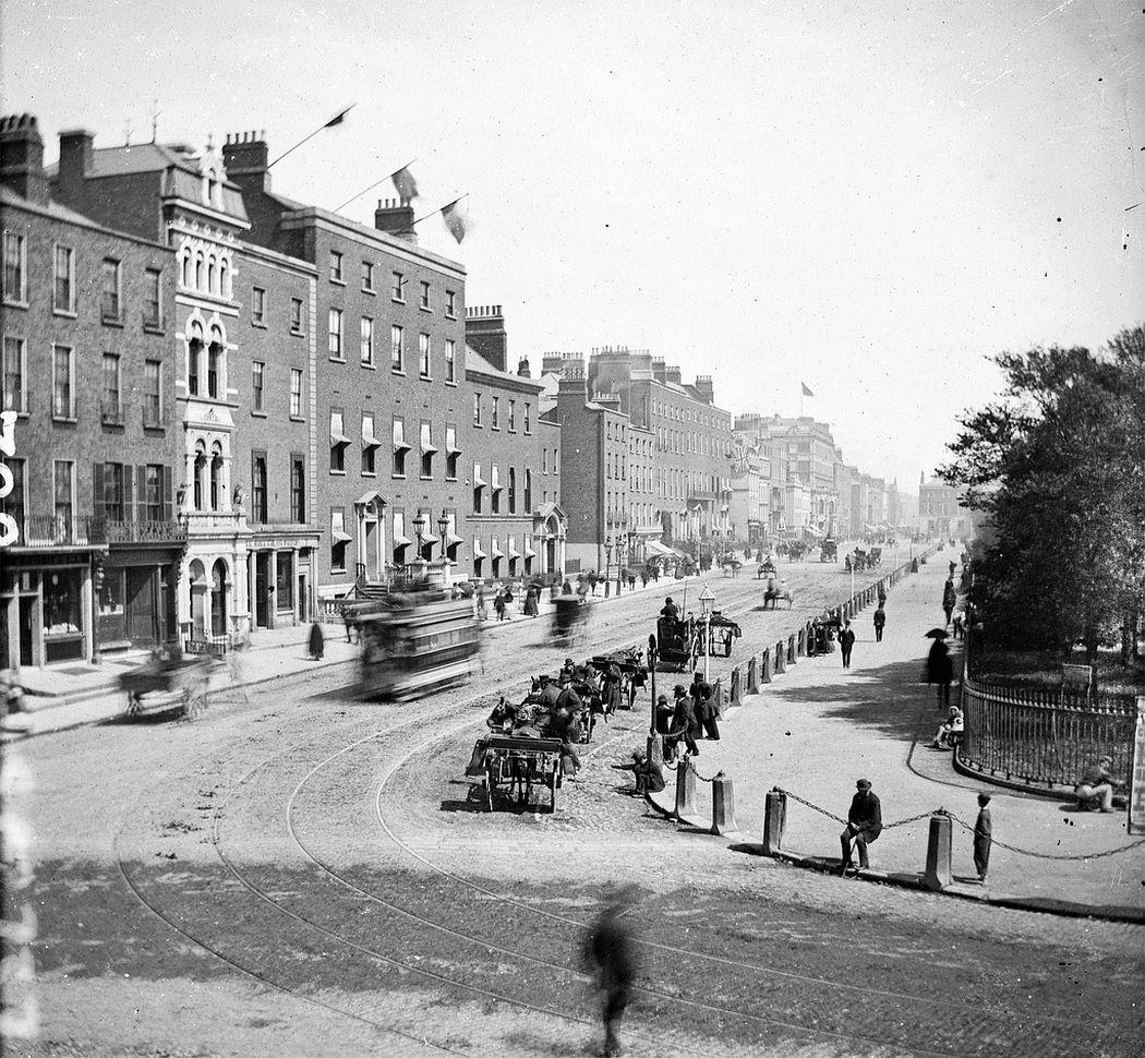 Stephen's Green, Dublin, ca. 1875