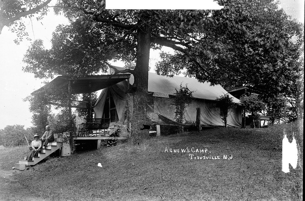 Agnew's Camp, Titusville, NJ, 1912