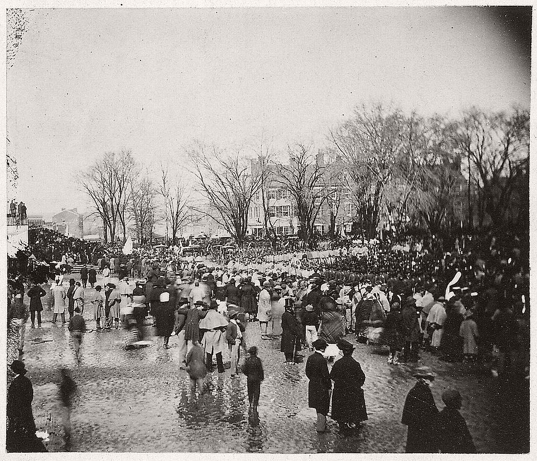Abraham Lincoln was inaugurated for a second time on March 4th, 1865