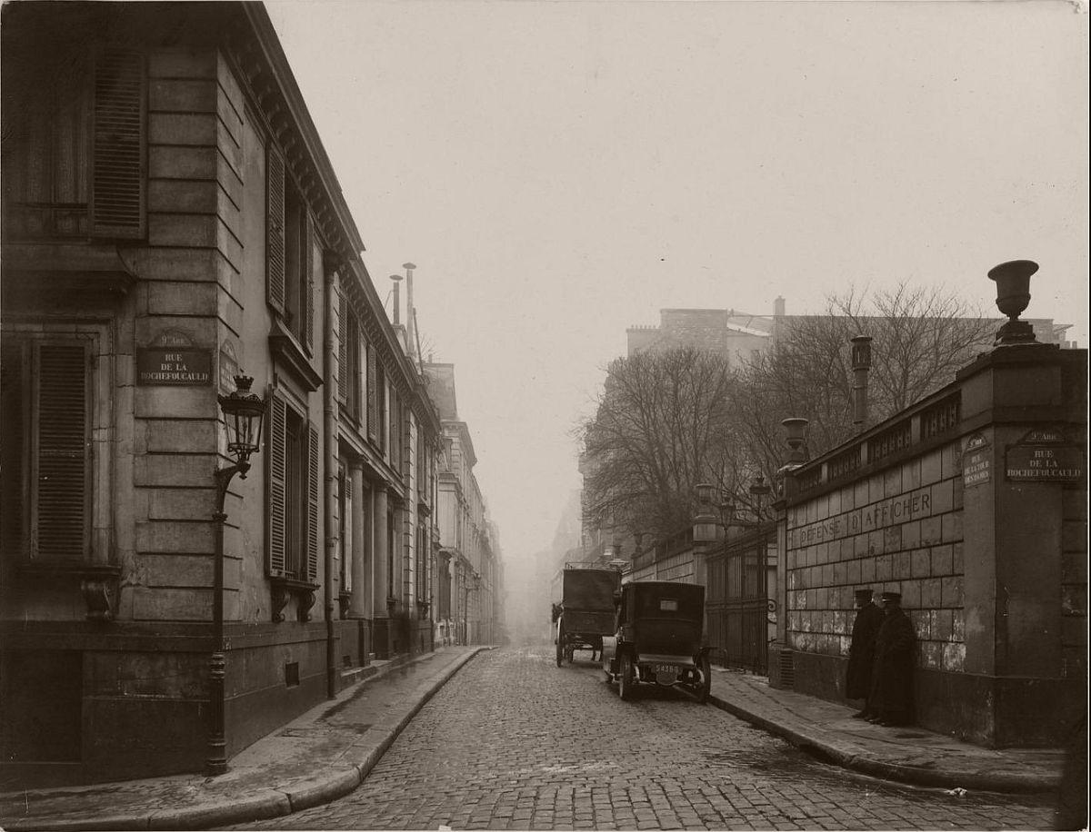 1919. Rue de la Tour des Dames.