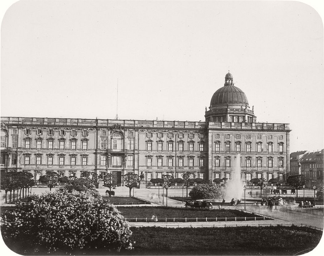Royal Castle, around 1856
