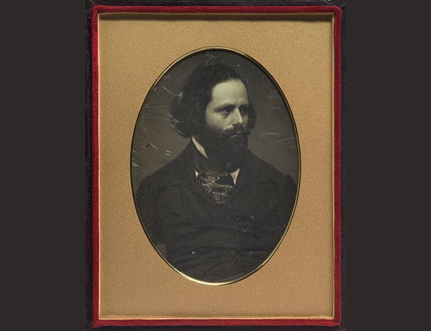 Charles Loring Elliott | c. 1850, half-plate daguerreotype