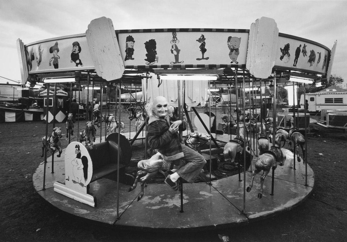 Dark Ride Roughie, King's Shows, Woodbridge, Ontario, 1974