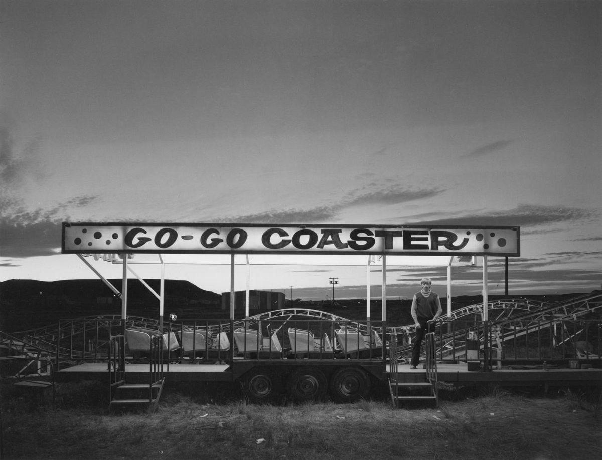 Go-Go Coaster, Inland Empire, Shelby Montana, 1976