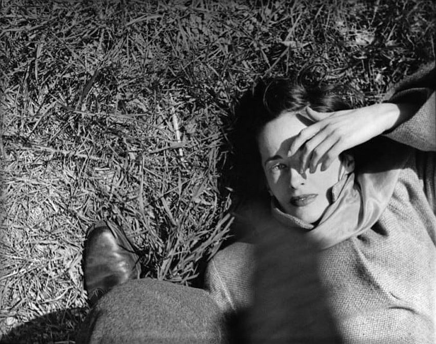 Sunday morning, The Cloisters, c.1947. Picture: © Saul Leiter, courtesy Howard Greenberg Gallery, New York / Steidl