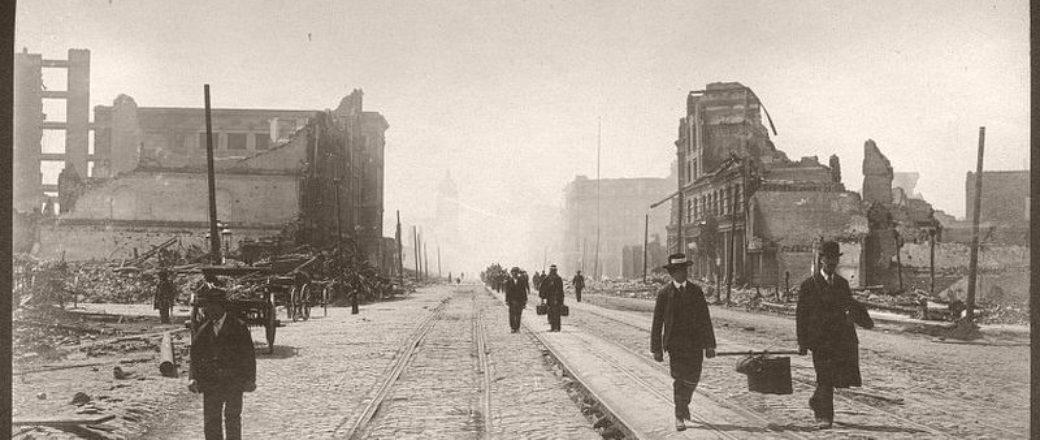 Vintage: 1906 San Francisco earthquake