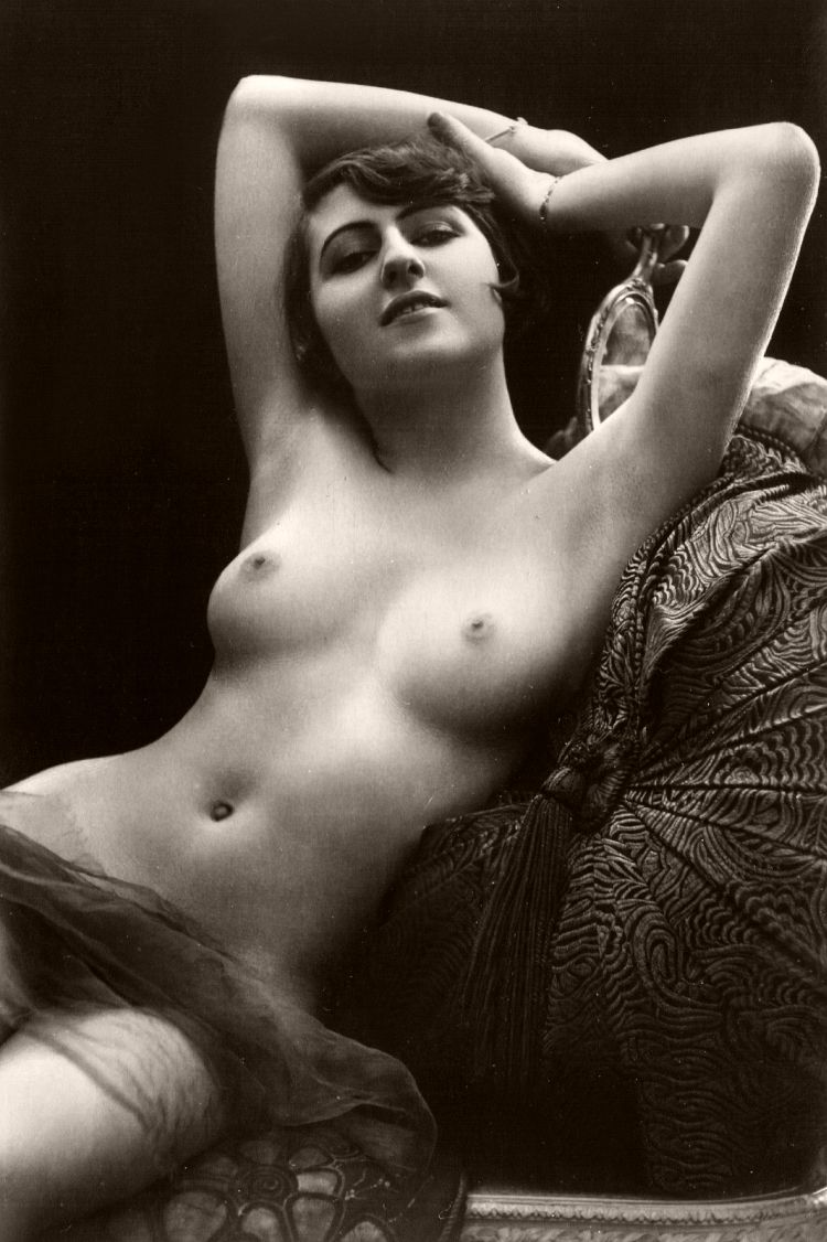 Vintage Early 20Th Century Bw Nudes  Monovisions-3432