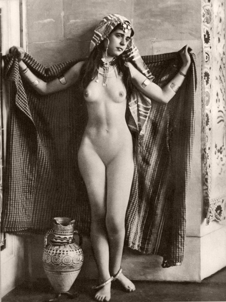 Vintage Early 20Th Century Bw Nudes  Monovisions-7793