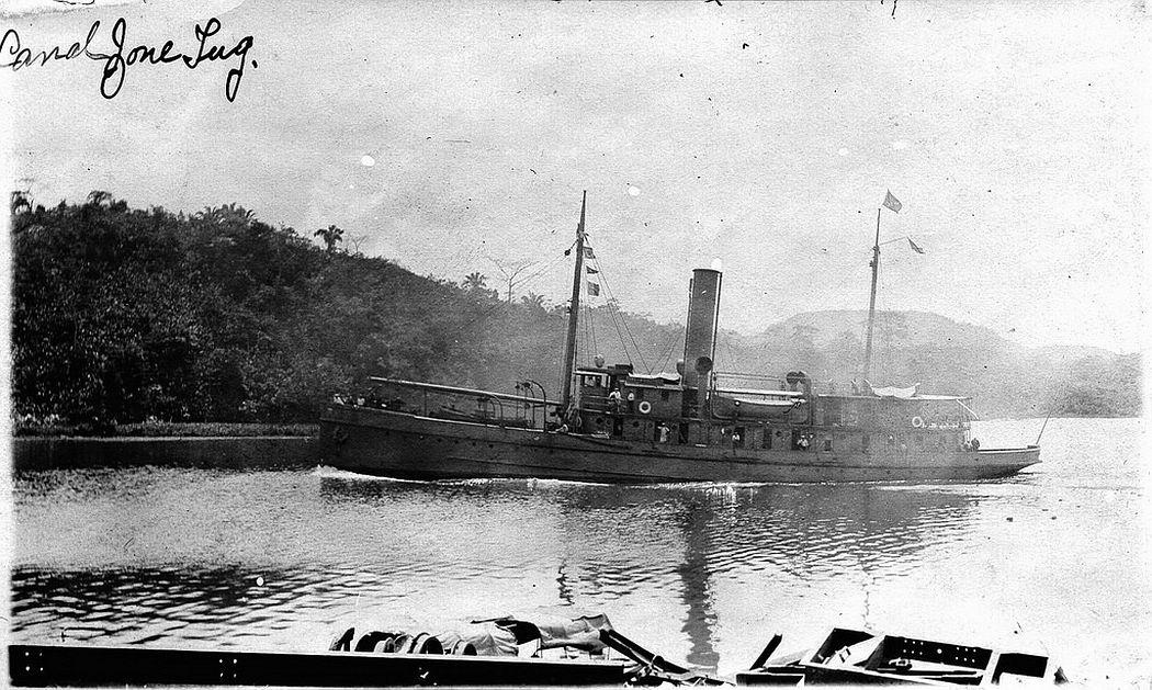 Vintage: Panama Canal (1914-1915)