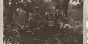 Vintage: Public portraits of President Theodore Roosevelt (1900s)