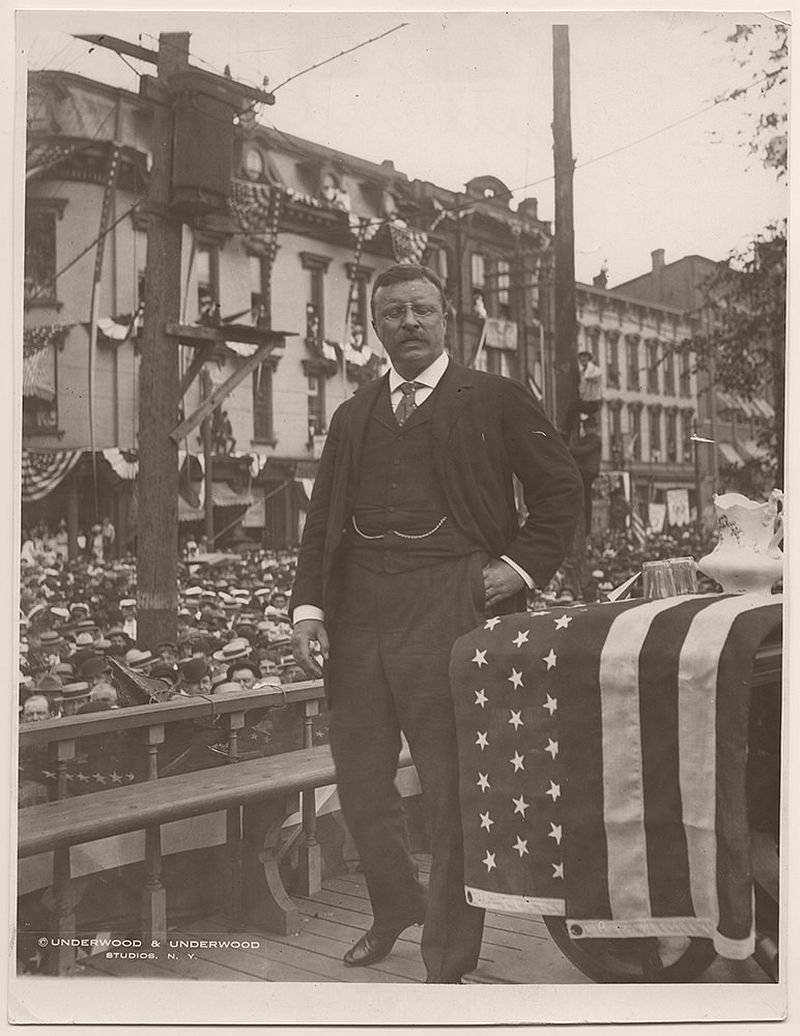 On September 1, 1902, President Theodore Roosevelt made a speech in Rutland, Vermont.