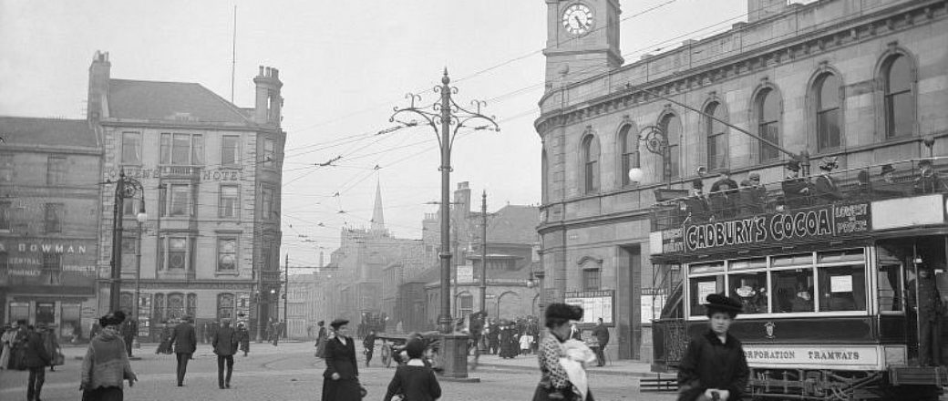 Vintage: Scotland during the Edwardian Era (1900s)