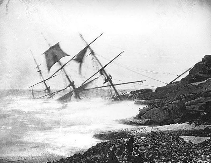 Minnehaha, St Mary's, Isle of Scilly, 1874.