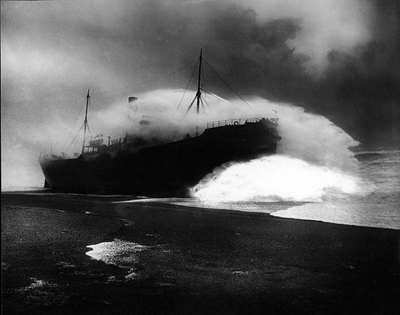 Tripolitania, Penzance harbour, 1912.