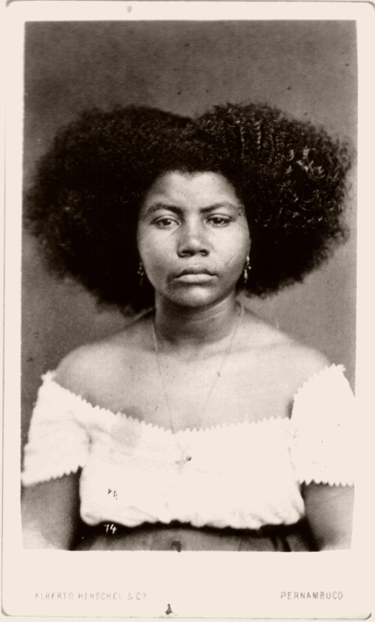 Moça de Salvador. 1869