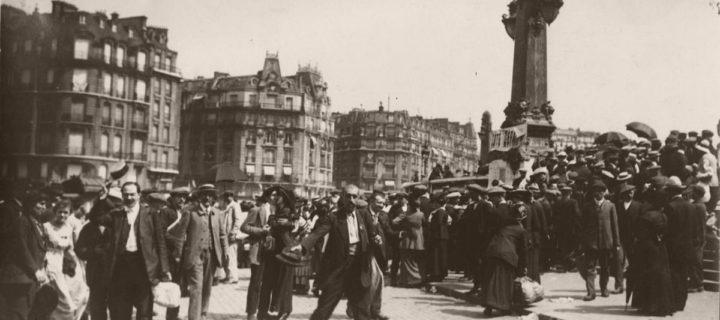 Vintage: Paris during World War I by Charles Lansiaux