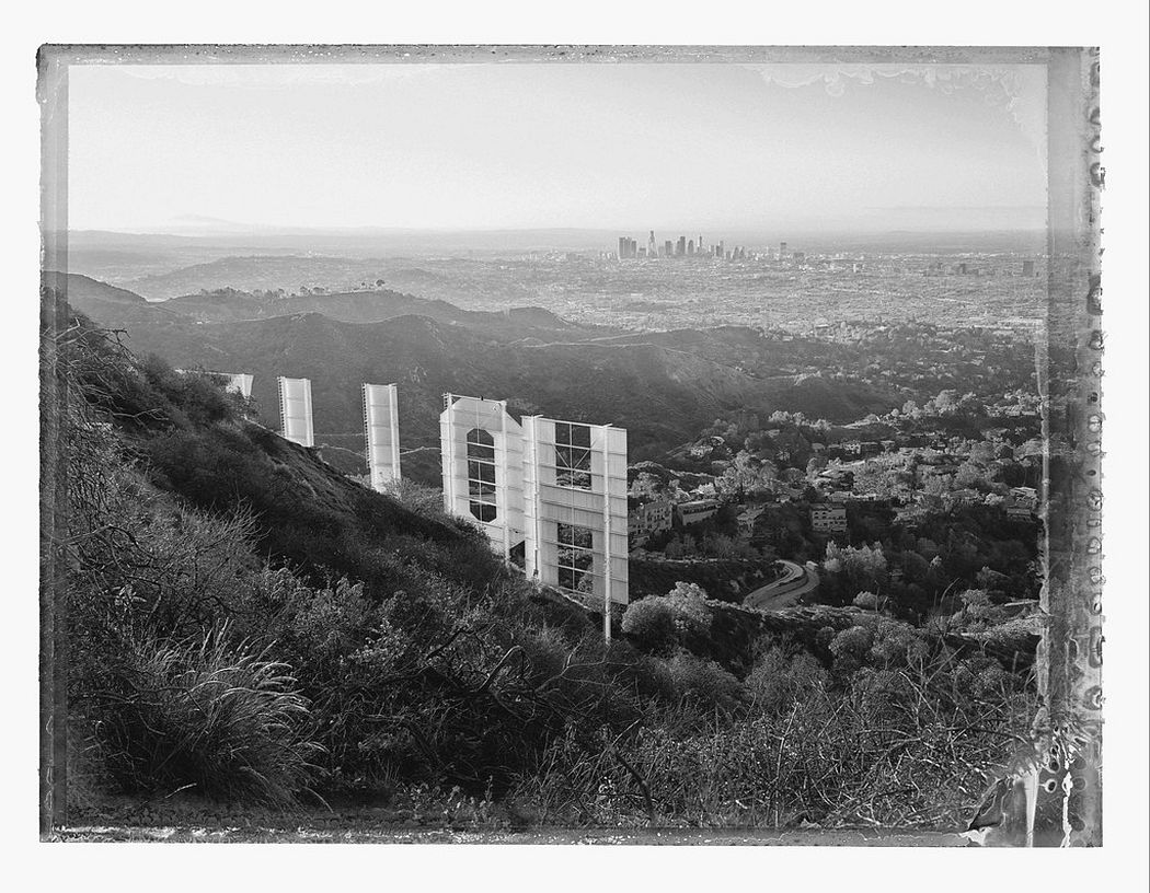 Christopher Thomas: Los Angeles, Hollywood Sign I, Hollywod Hills, 2017 © Christopher Thomas