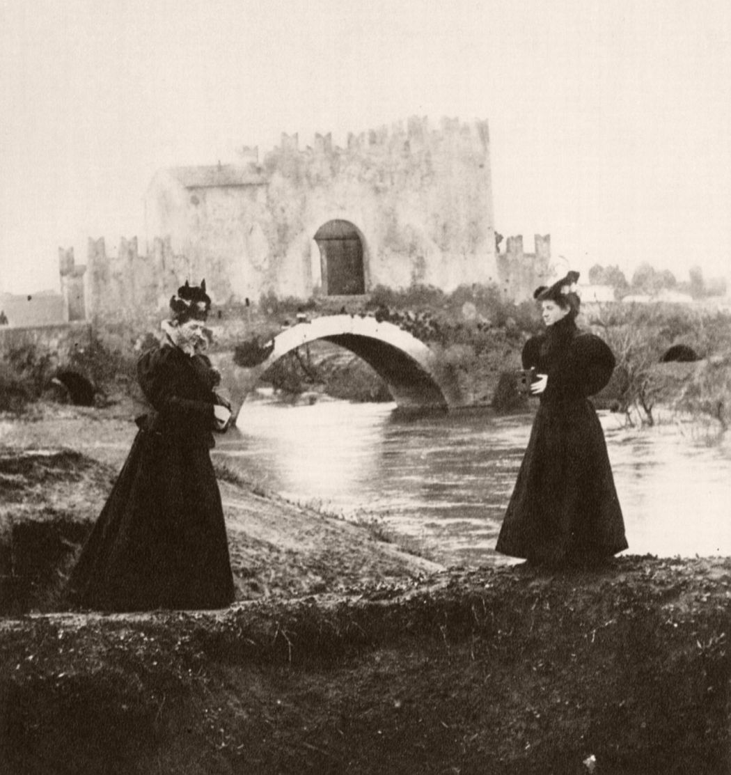 Ponte Nomentano, ca. 1896. Photo by Giuseppe Primoli
