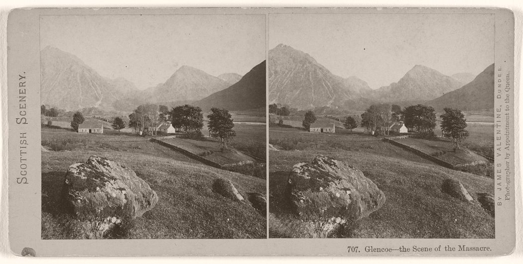 Glencoe - the Scene of the Massacre, 1870s.