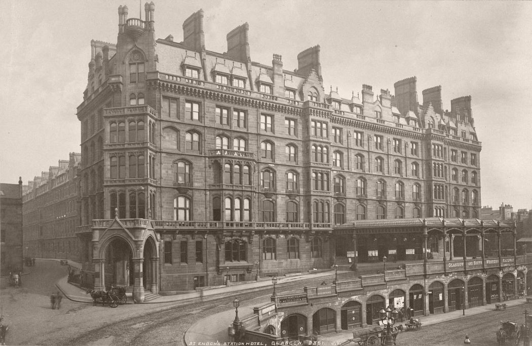 Glasgow. Saint Enoch's Station Hotel, 1879.