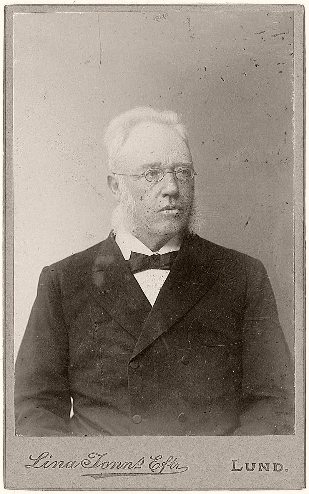 Fredrik Areschoug (1830-1908), Swedish professor of botany at Lund University.