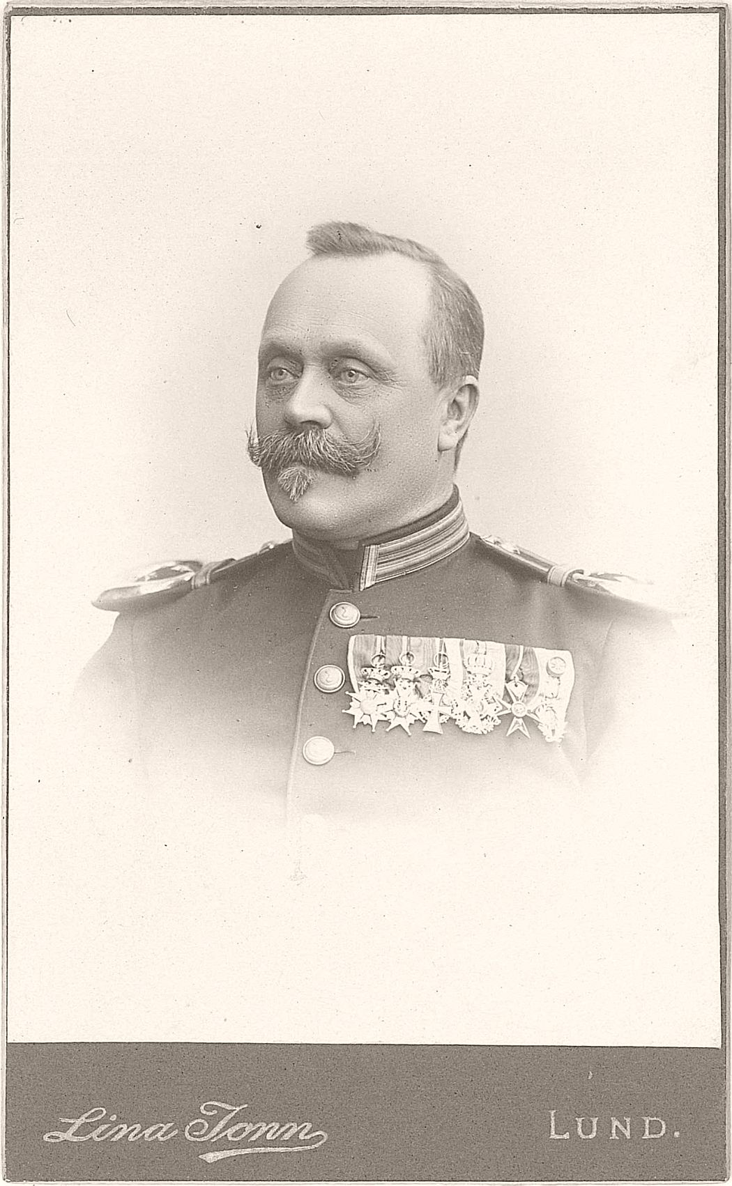 Carl Norlander (1846-1916), Swedish officer and gymnastics teacher; master of fencing at Lund University 1882-1916.