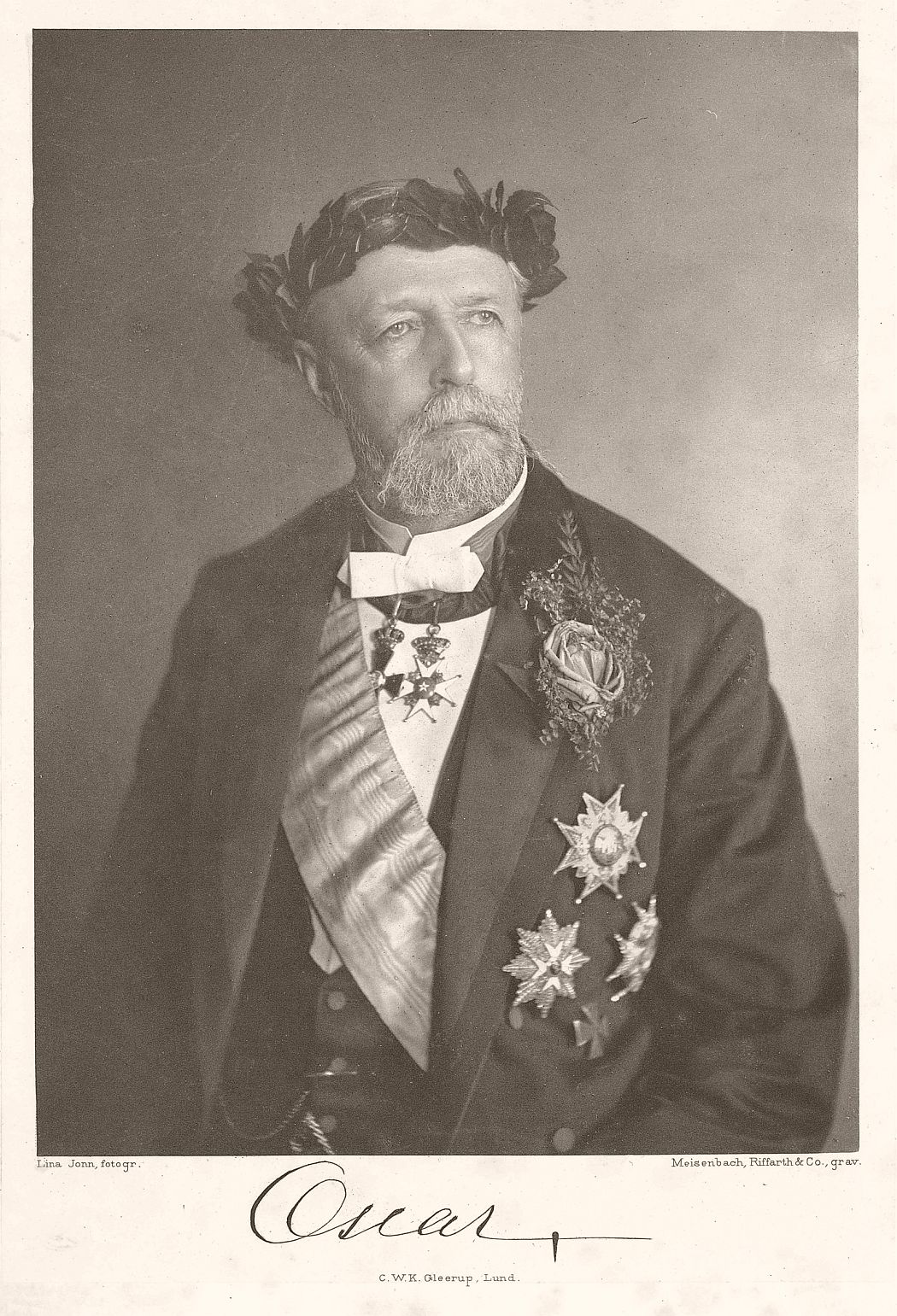 King Oscar II in 1893.