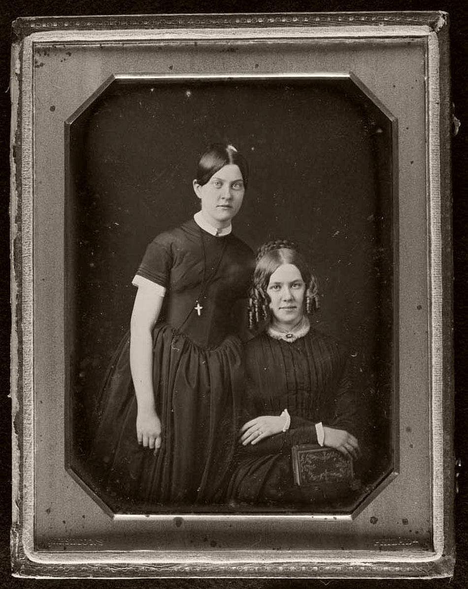 Daguerreotype, circa 1850s. Photo by Marcus Aurelius Root