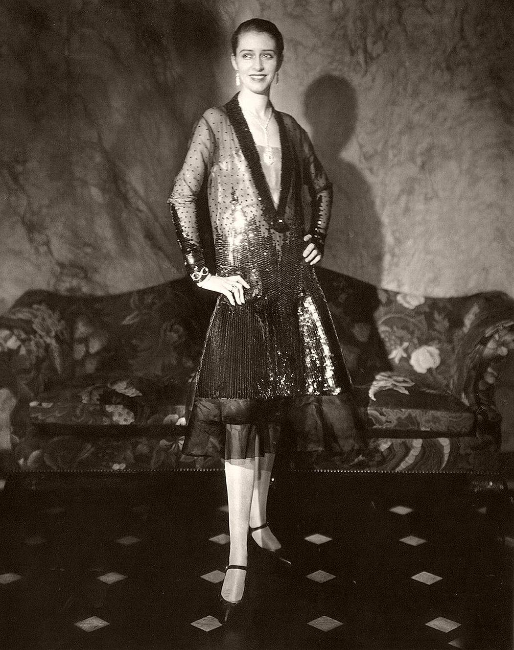 Marion Morehouse in Cheruit Gown, 1927 by Edward Steichen