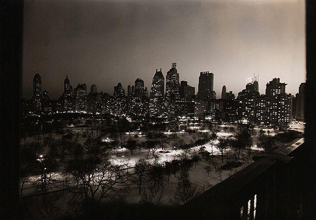 Paul J. Woolf, Central Park South & 59th Street, c. 1936