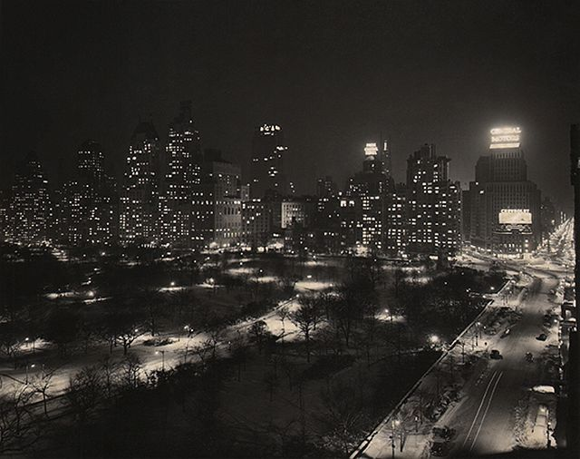 Paul J. Woolf, Central Park South & West, c. 1935