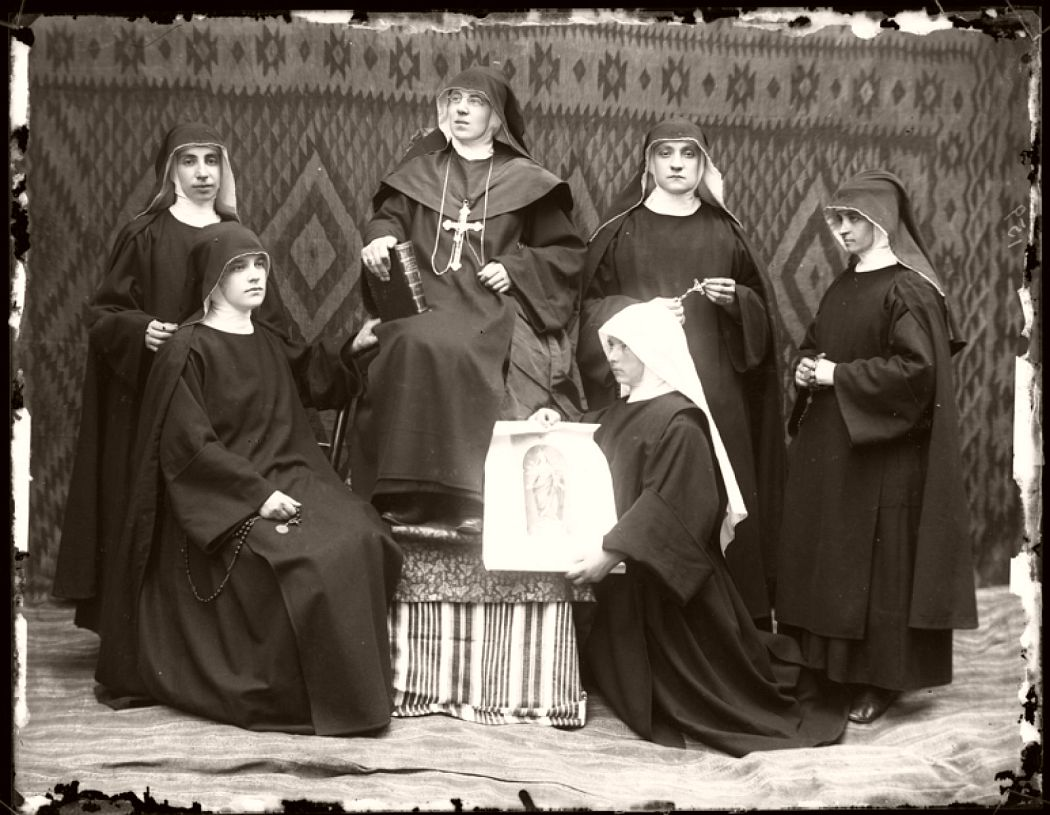 Sister Elisabeta, no date, Pietro Marubi, wet plate © Marubi National Museum of Photography