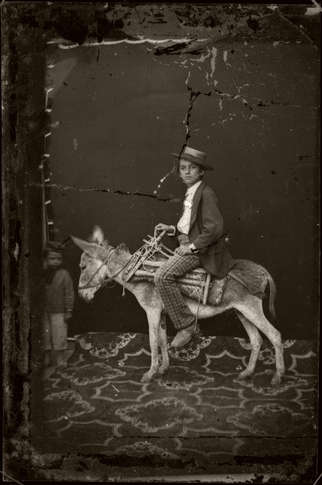 Untitled, before 1881, Pietro Marubi, wet plate © Marubi National Museum of Photography