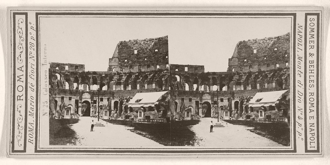 Colosseo. Interna, 1860 - 1872.