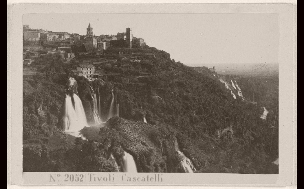 Tivoli Cascatelli, 1865 - 1870.