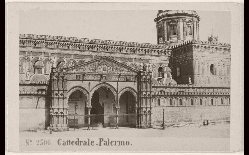 Cattedrale Palermo, 1865 - 1870.