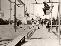 Vintage: Early 20th Century Kids Playgrounds