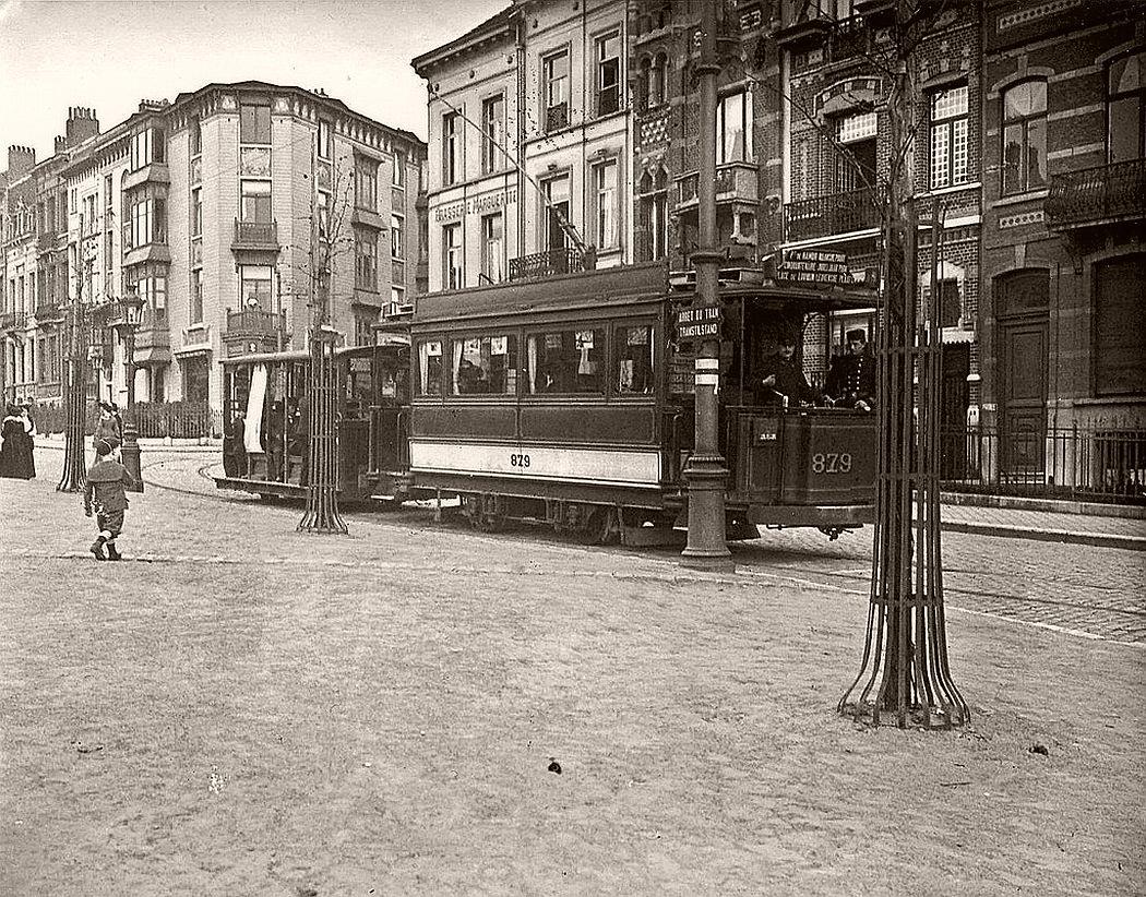 Square Marguerite, Brussels, ca. 1900s