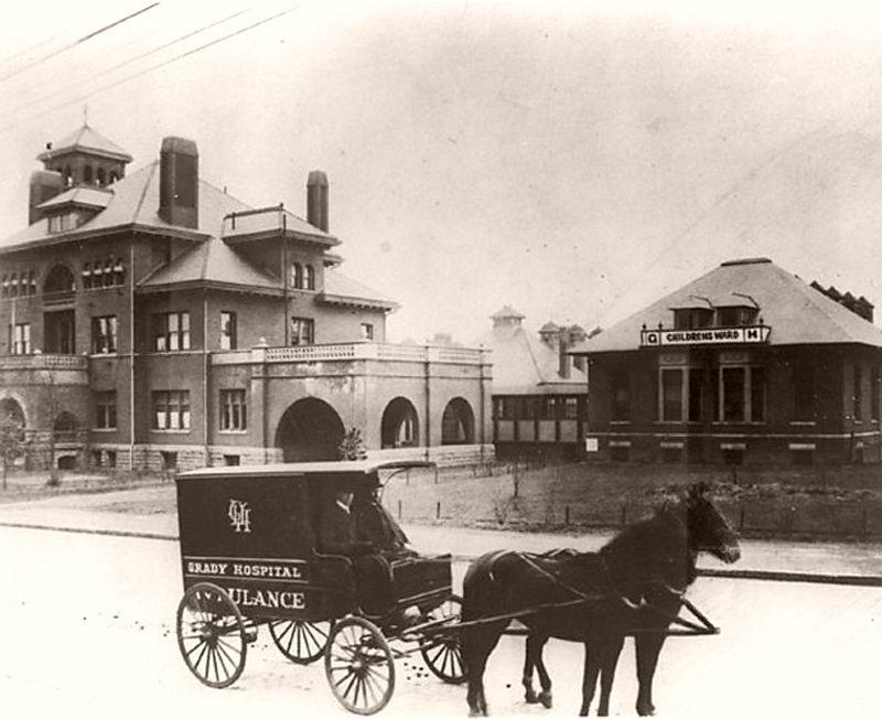 Atlanta's Grady Hospital on May 25, 1892