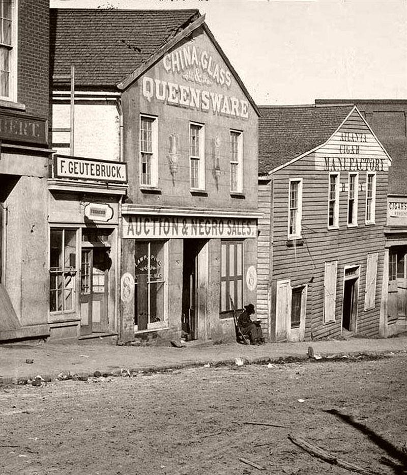 Vintage Everyday Life Of Atlanta Georgia 19th Century