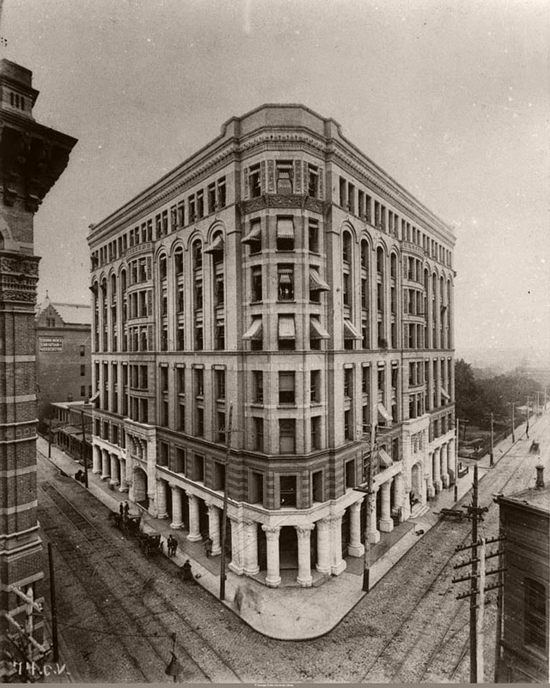 Atlanta's Equitable Building in 1892