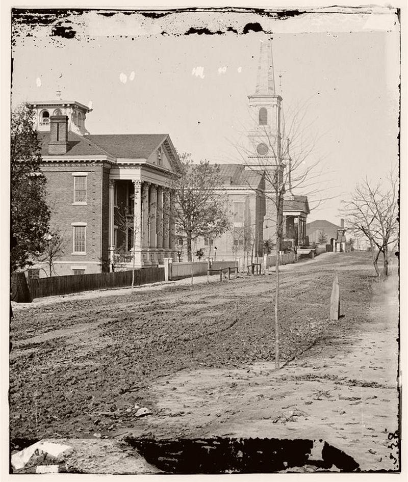 Street in Atlanta, ca. 1890s