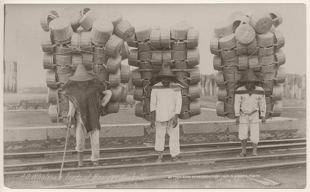 Wholesale loads of Mexican baskets, 1904